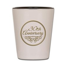 30th Anniversary Shot Glass