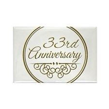 33rd Wedding Anniversary Gift For Husband : 33rd+Anniversary+For+Husband 33rd Wedding Anniversary Magnets 33rd ...