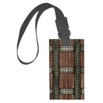 Medieval Chest Large Luggage Tag
