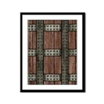 Medieval Chest Framed Panel Print