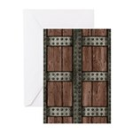 Medieval Chest Greeting Cards (Pk of 10)