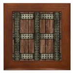 Medieval Chest Framed Tile