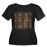 Medieval Chest Women's Plus Size Scoop Neck Dark T