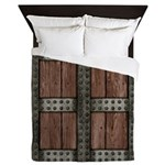 Medieval Chest Queen Duvet