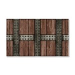 Medieval Chest Car Magnet 20 x 12