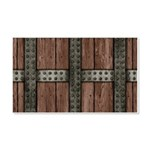 Medieval Chest 20x12 Wall Decal