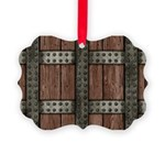 Medieval Chest Picture Ornament