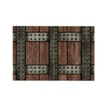 Medieval Chest Rectangle Magnet