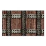 Medieval Chest Sticker (Rectangle 10 pk)