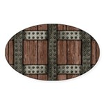 Medieval Chest Sticker (Oval 50 pk)