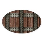 Medieval Chest Sticker (Oval 10 pk)