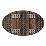 Medieval Chest Sticker (Oval)