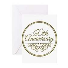60th Anniversary Greeting Cards