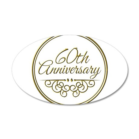 60th Anniversary Wall Decal