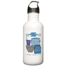 Kitchen Cheat Sheet Water Bottle