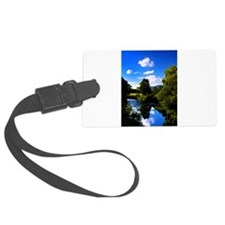 Reflection in the River e2 Luggage Tag