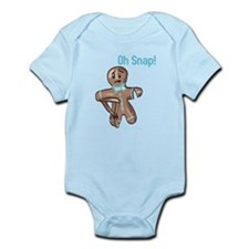 Oh Snap Gingerbread Man 4 Body Suit