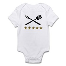 BBQ barbecue Cutlery Infant Bodysuit