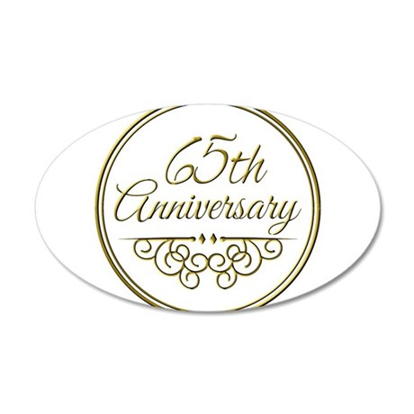 65th Anniversary Wall Decal