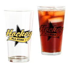 Hockey All Star Drinking Glass