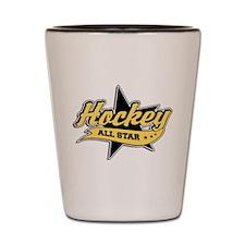 Hockey All Star Shot Glass