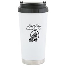 Throw Me To The Wolves Travel Mug