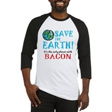 ART Earth bacon Baseball Jersey