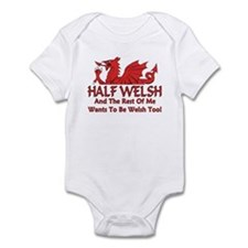 ...Half Welsh... Infant Bodysuit