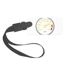 Tachometer Luggage Tag