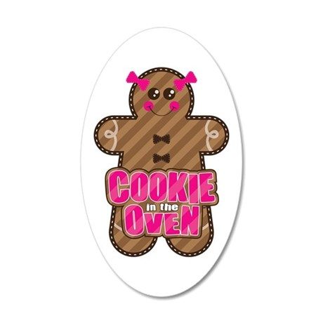 Cookie in the Oven™ 20x12 Oval Wall Decal