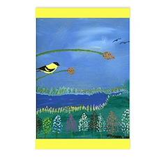 James Joyner Bird Scene Postcards (Package of 8)