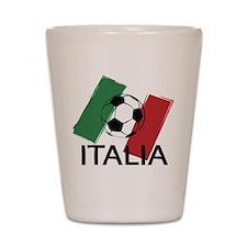 Italia Italy Football Soccer ball Shot Glass