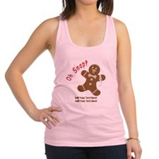 Add Your Text Here Racerback Tank Top