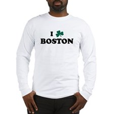 I Shamrock BOSTON Long Sleeve T-Shirt