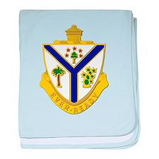 DUI - 132nd Infantry Regiment baby blanket