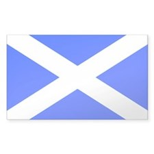 Scotland flag Rectangle Decal