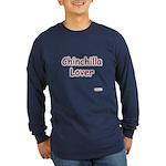 Chinny Lover Long Sleeve Dark T-Shirt