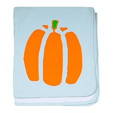 Pumpkin baby blanket