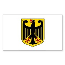 Germany coat of arms Rectangle Decal