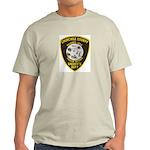 Churchill County Sheriff Light T-Shirt