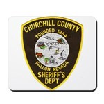 Churchill County Sheriff Mousepad