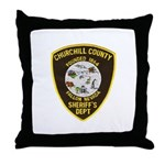 Churchill County Sheriff Throw Pillow