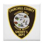Churchill County Sheriff Tile Coaster