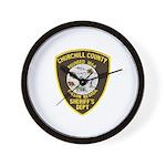 Churchill County Sheriff Wall Clock