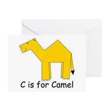 C is for Camel Greeting Cards (Pk of 10)
