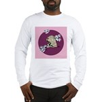 Yawning Chinese Shar Pei Long Sleeve T-Shirt