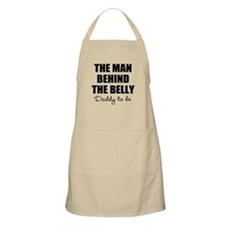 The Man Behind The Belly | Daddy To Be Apron Beige