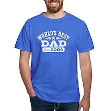 World's Best Dad Since 2004 T-Shirt