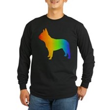 french bulldog copyz Long Sleeve T-Shirt