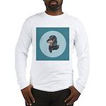 Longhaired Dachshund Long Sleeve T-Shirt